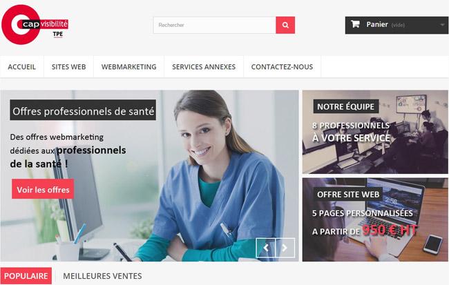TPE CAP VISIBILITE : Professionnels de santé