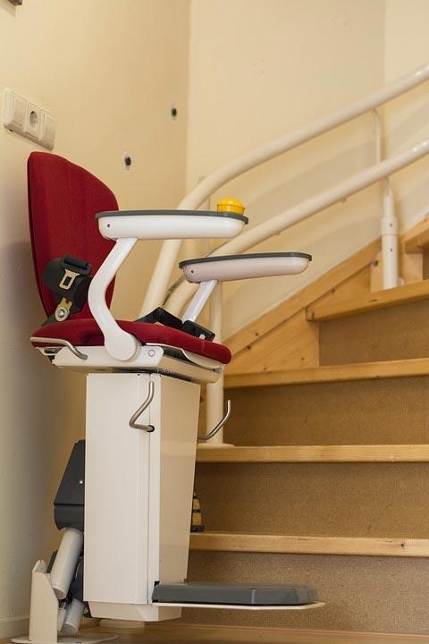 Monte-escaliers pour sénior